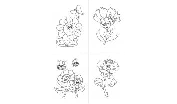 Набор для творчества Веселые цветочки