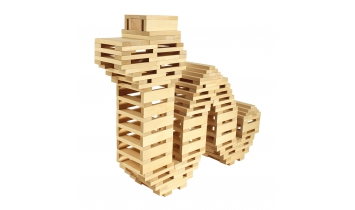 Строительный набор Кусочки-брусочки №2