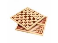 Набор настольных игр Шашки+нарды