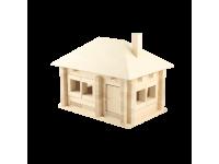 Конструктор Изба с вальмовой крышей